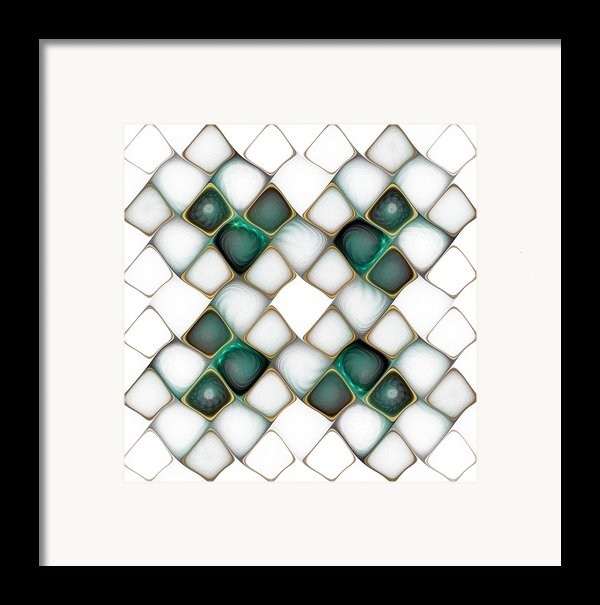 X Marks The Spot Framed Print By Amanda Moore